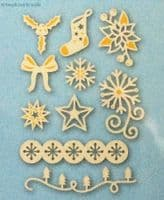 A6 Signs of the Season - Embellishment Die Set